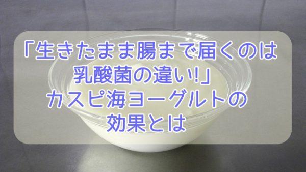 ヨーグルト 効果 海 カスピ 【ダイエット効果がすごい?!】美容女子が喜ぶ「カスピ海ヨーグルト」の効果とは?!