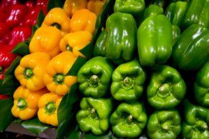 赤くなったピーマンは食べられる?赤くなる理由は?栄養価が高くなるの?