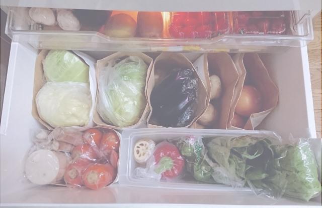 りんごの保存 野菜室