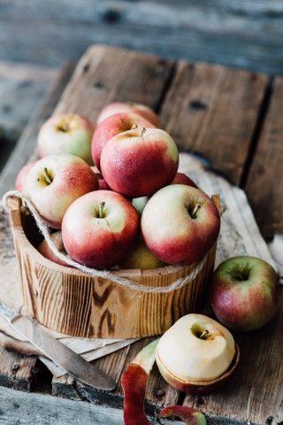 りんごの保存 美味しいりんごの見分け方