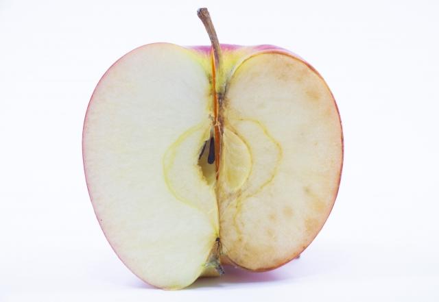 りんごの酸化のイメージ