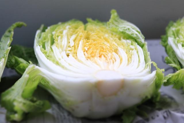 白菜の外側はどこまで剥くもの?捨てた方がいい?緑の葉は食べられるの?
